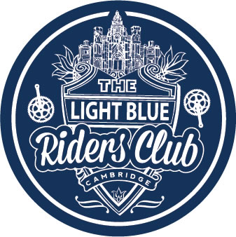 light blue riders club logo