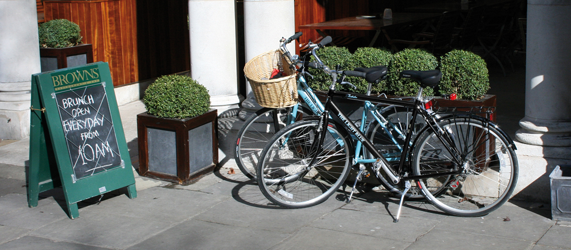 image of the light blue commuter