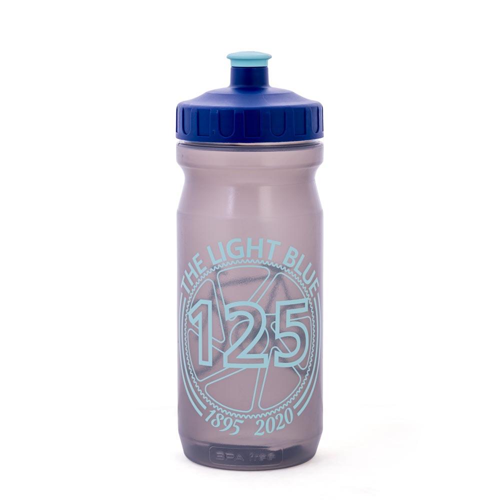 The Light Blue 125 Year Logo Water Bottle