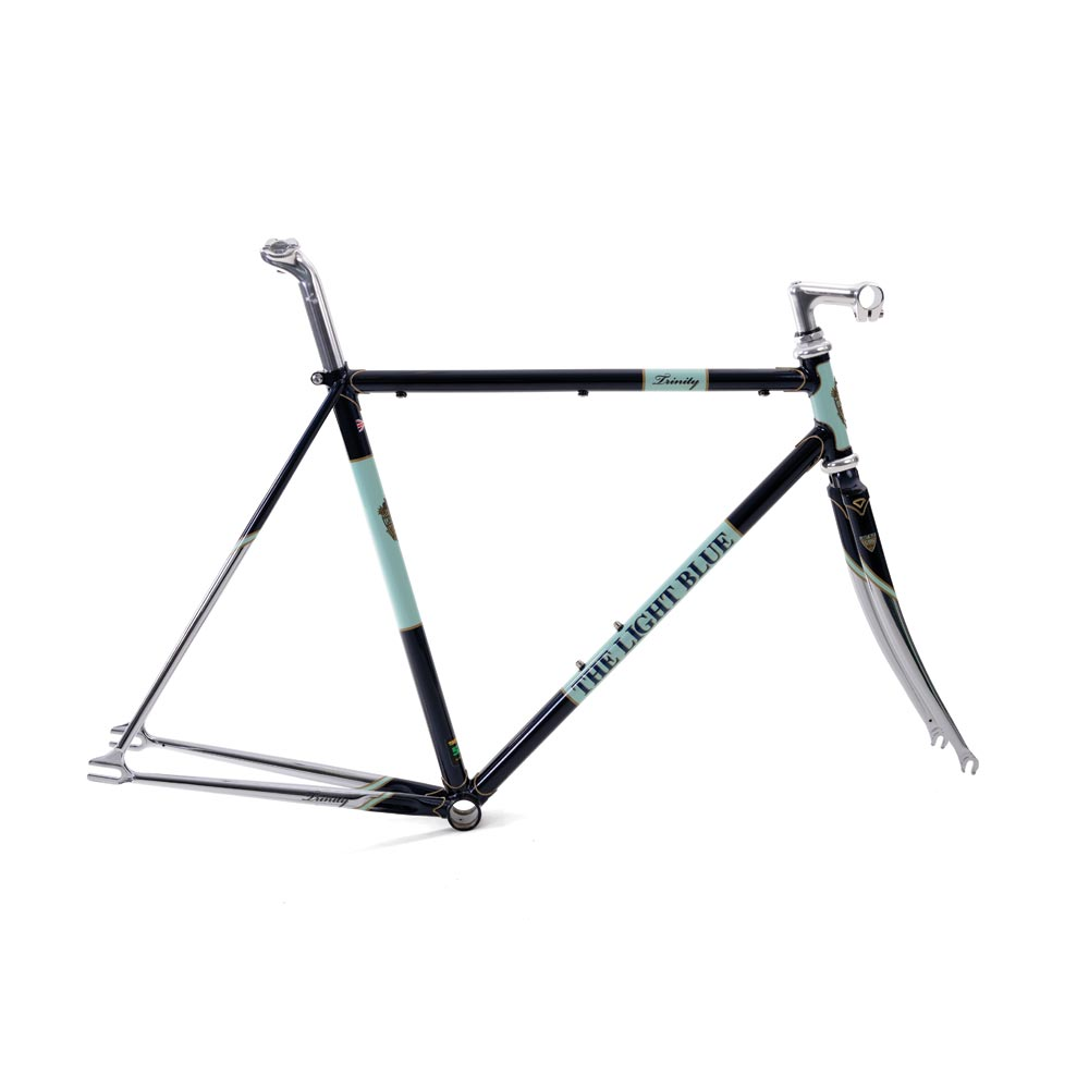 Light Blue Sport Trinity Track Frameset