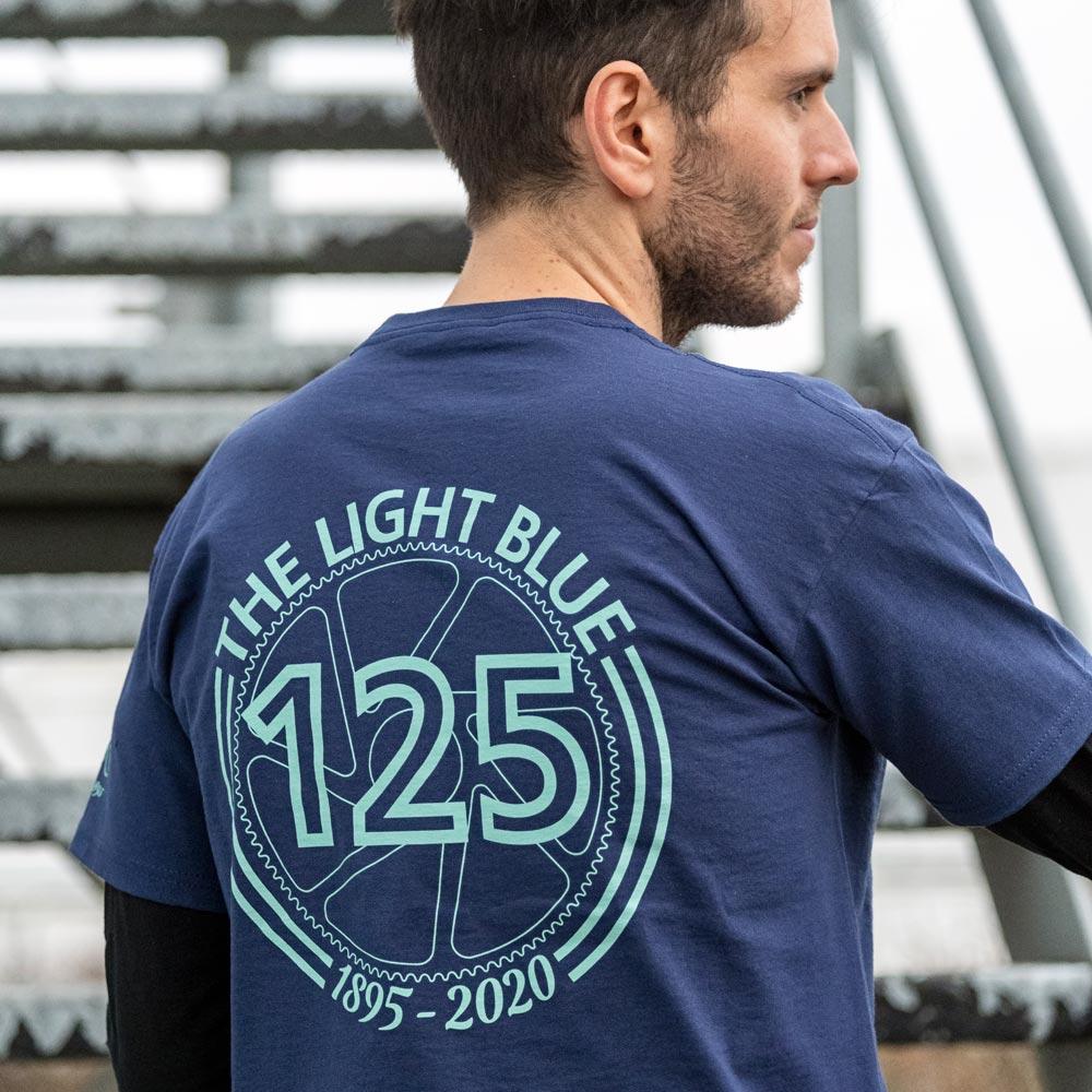 The Light Blue 125th Anniversary T-Shirt