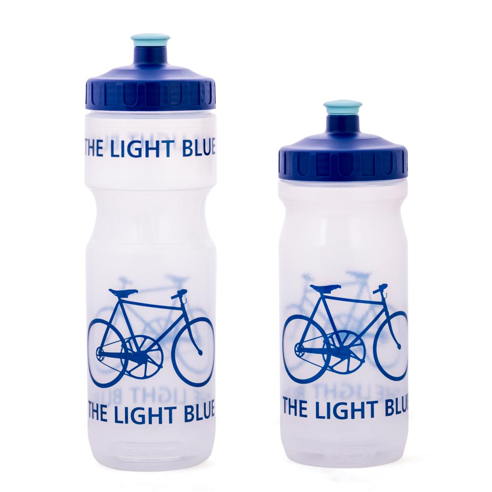 The Light Blue Water Bottle