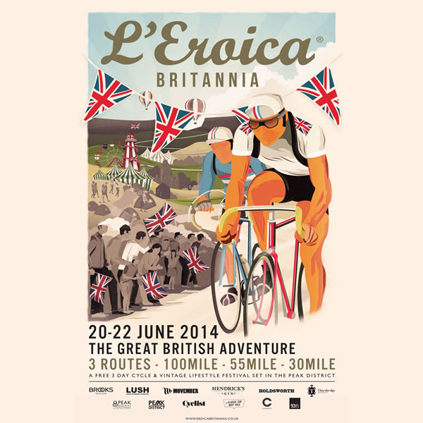 The Light Blue will be at L'Eroica Britannia